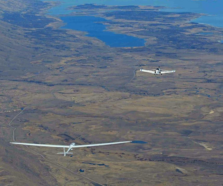 Perlan Mission II glider