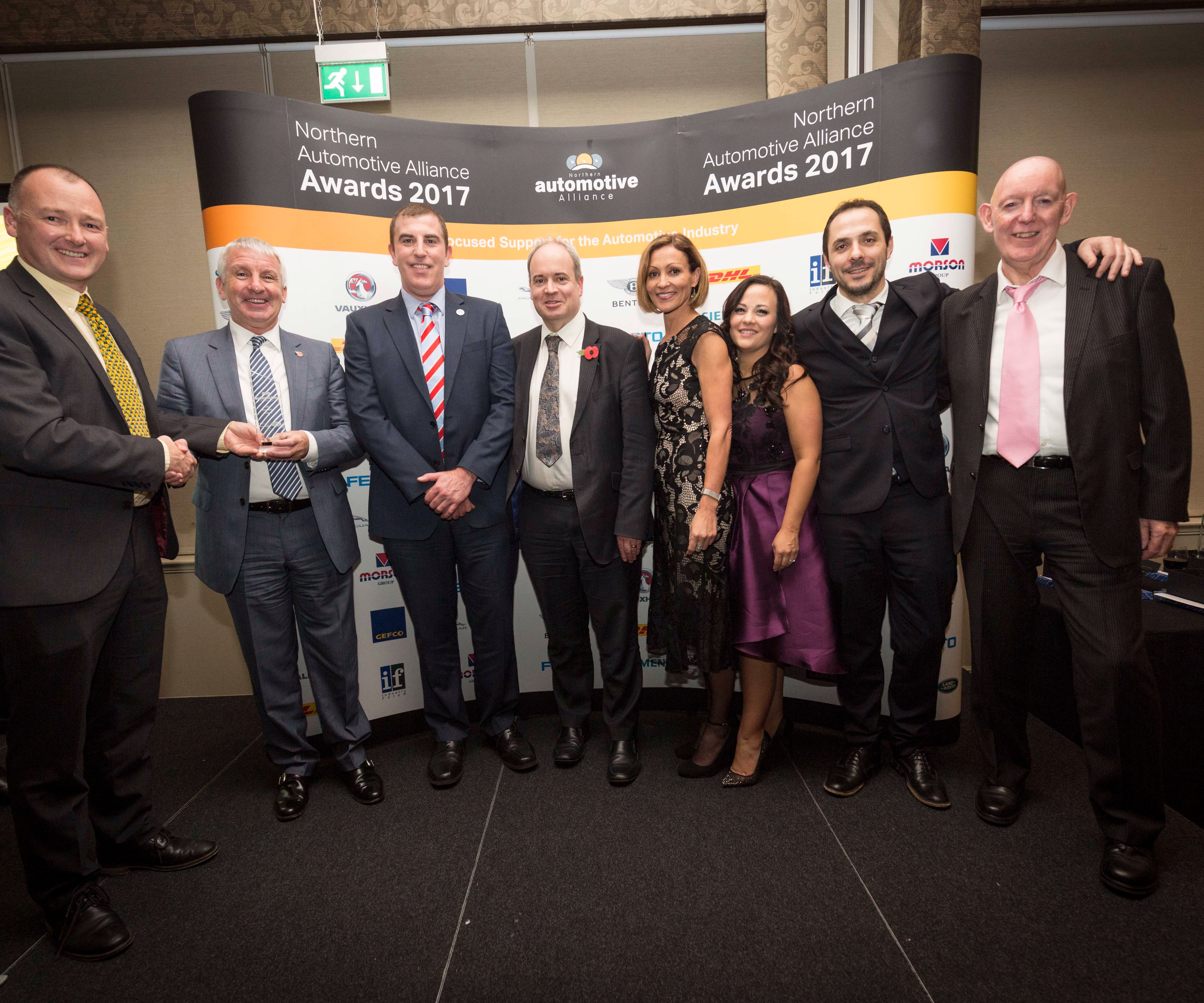 Sigmatex receives Jaguar Land Rover award