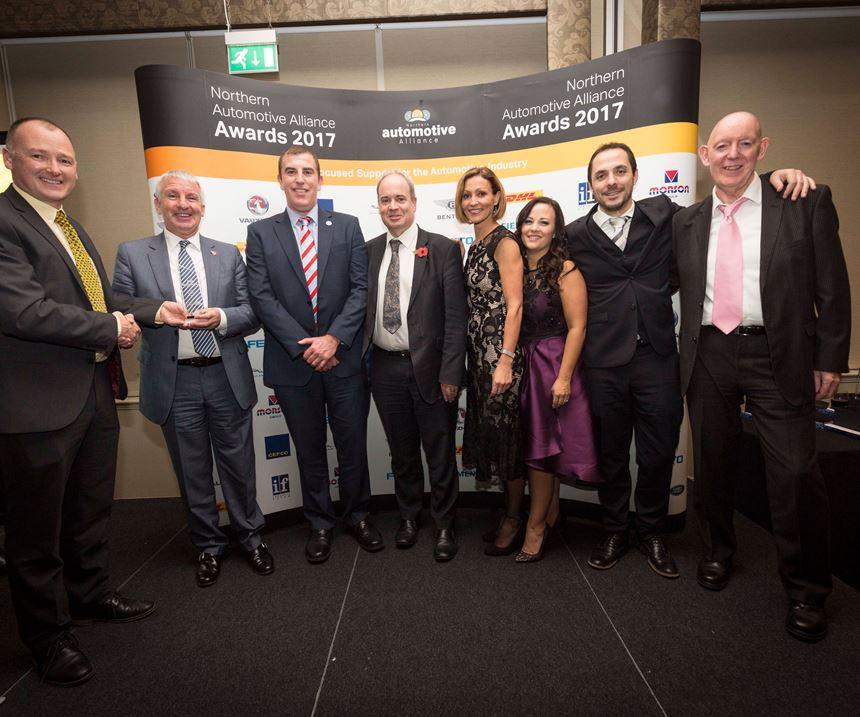 Sigmatex receives Jaguar Land Rover award