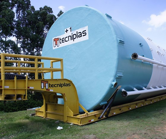 Tecniplas monolithic water tank