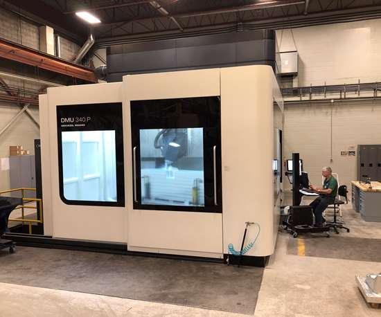 Weber Manufacturing adds DMG Mori machine