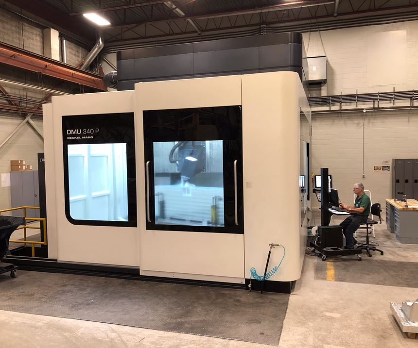 Weber Manufacturing adds DMG Mori machine