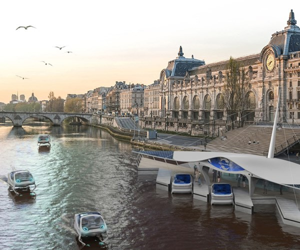 SeaBubbles concept, Paris.