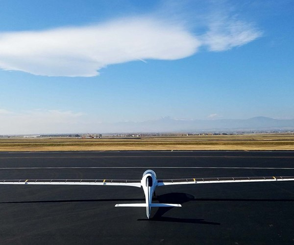 StratoAirNet, from the rear.