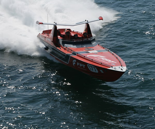FB Design race boat.