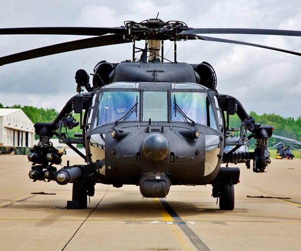 Black Hawk with Unitech LASS pylons.