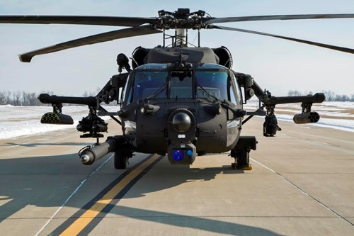 Unitech Composites pylons take weight out of Black Hawks