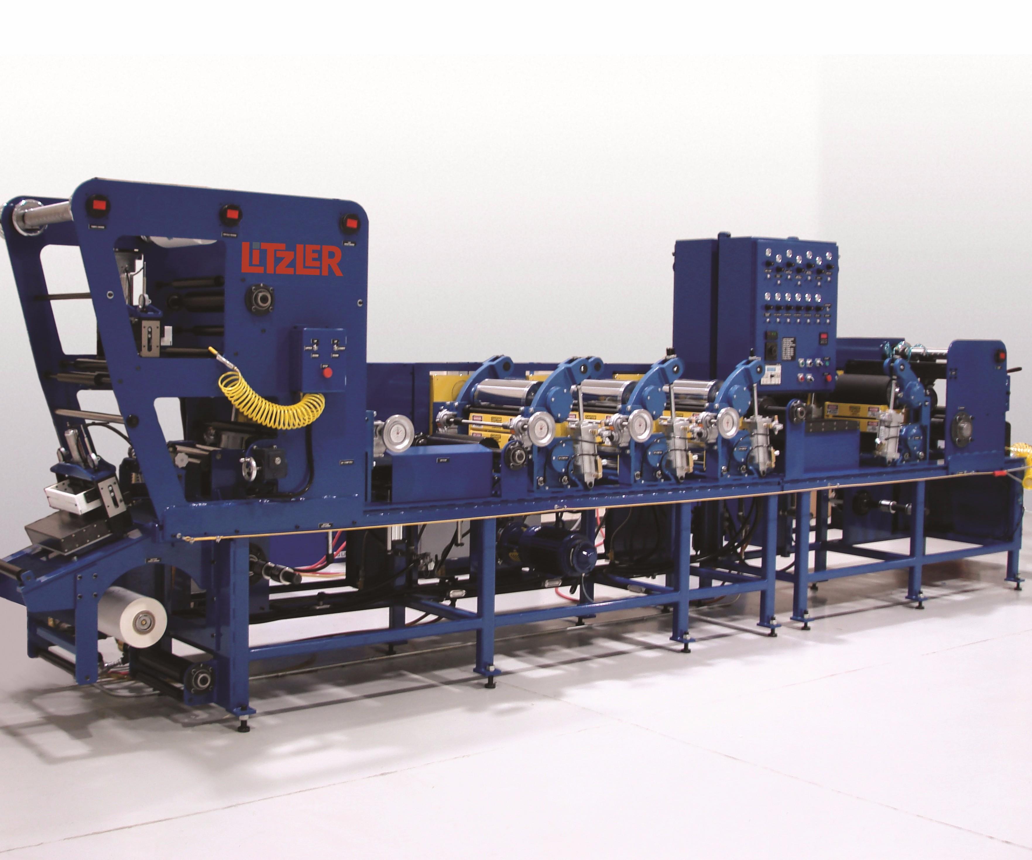 C. A. Litzler prepreg machine