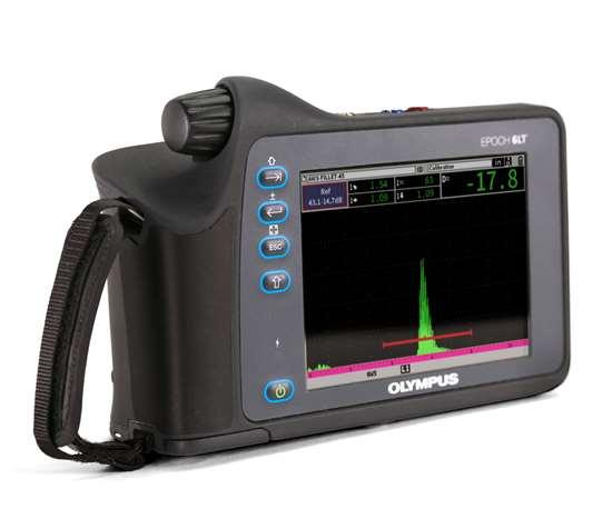 Olympus EPOCH 6LT flaw detector.
