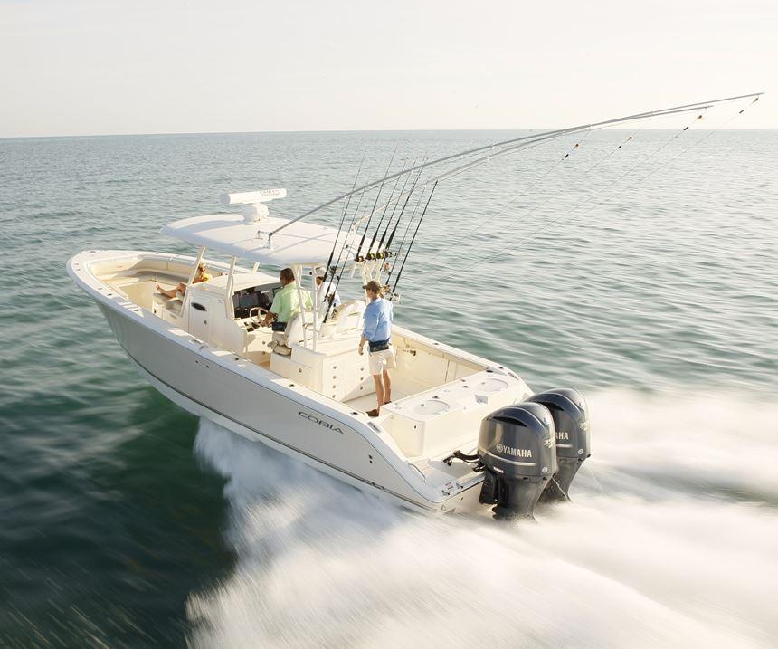 Maverick fishing boat made with Scott Bader structural adhesives.