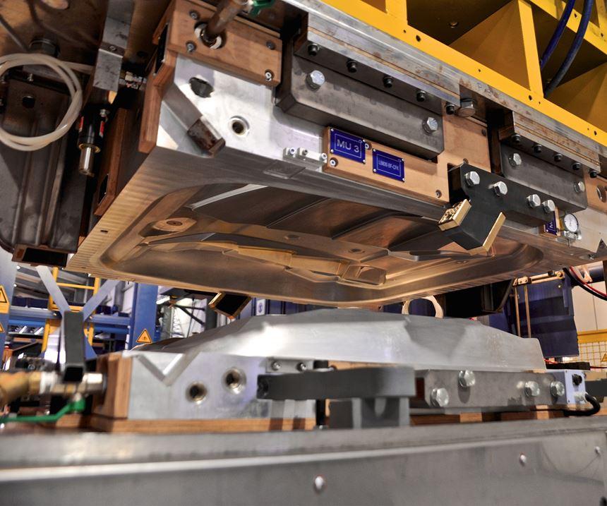 Siempelkamp RTM press.