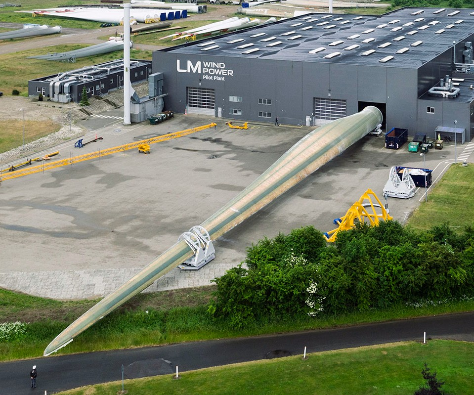 LM Wind Power 88m wind blade