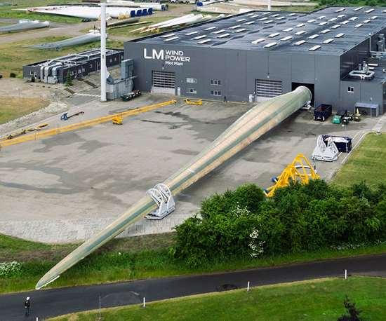 LM Wind Power 88m wind blade