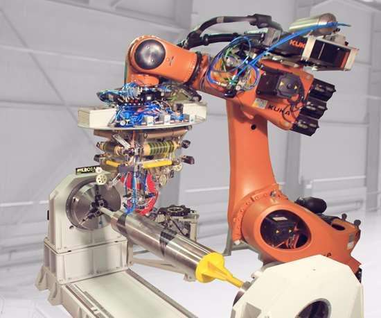 Mikrosam automated manufacturing.