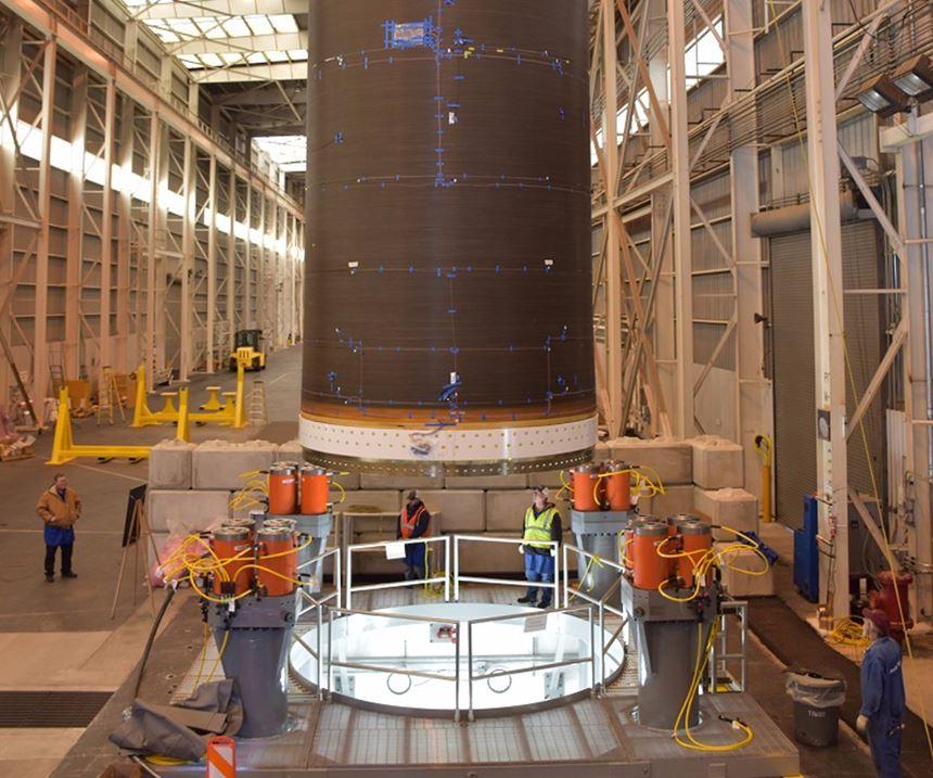 Orbital ATK launch vehicle.