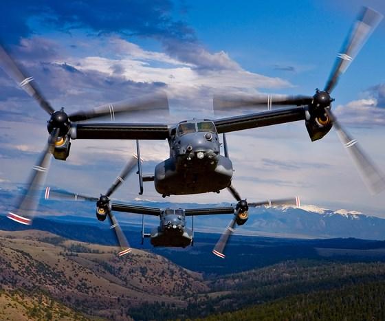 V-22 Osprey exceeds 400,000 flight hours : CompositesWorld