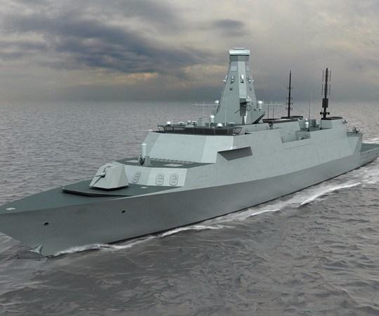 UK Royal Navy Type 26 frigate