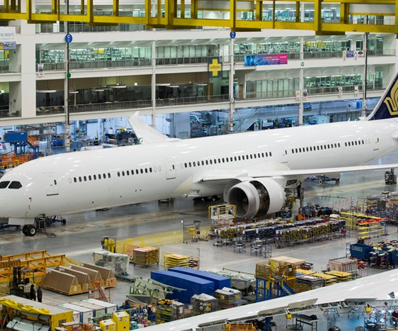 Boeing 787-10 rollout, North Charleston, SC, US.