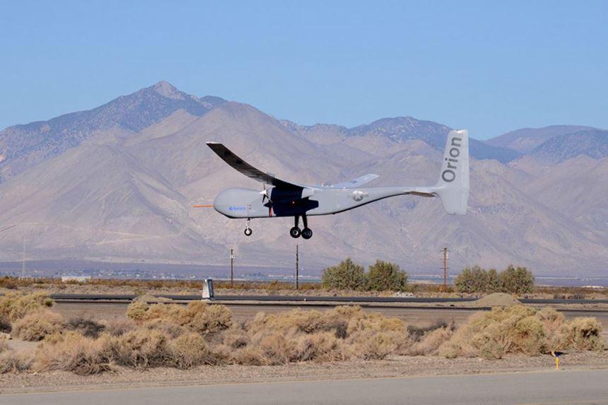 Aurora Flight Science's Orion UAV.