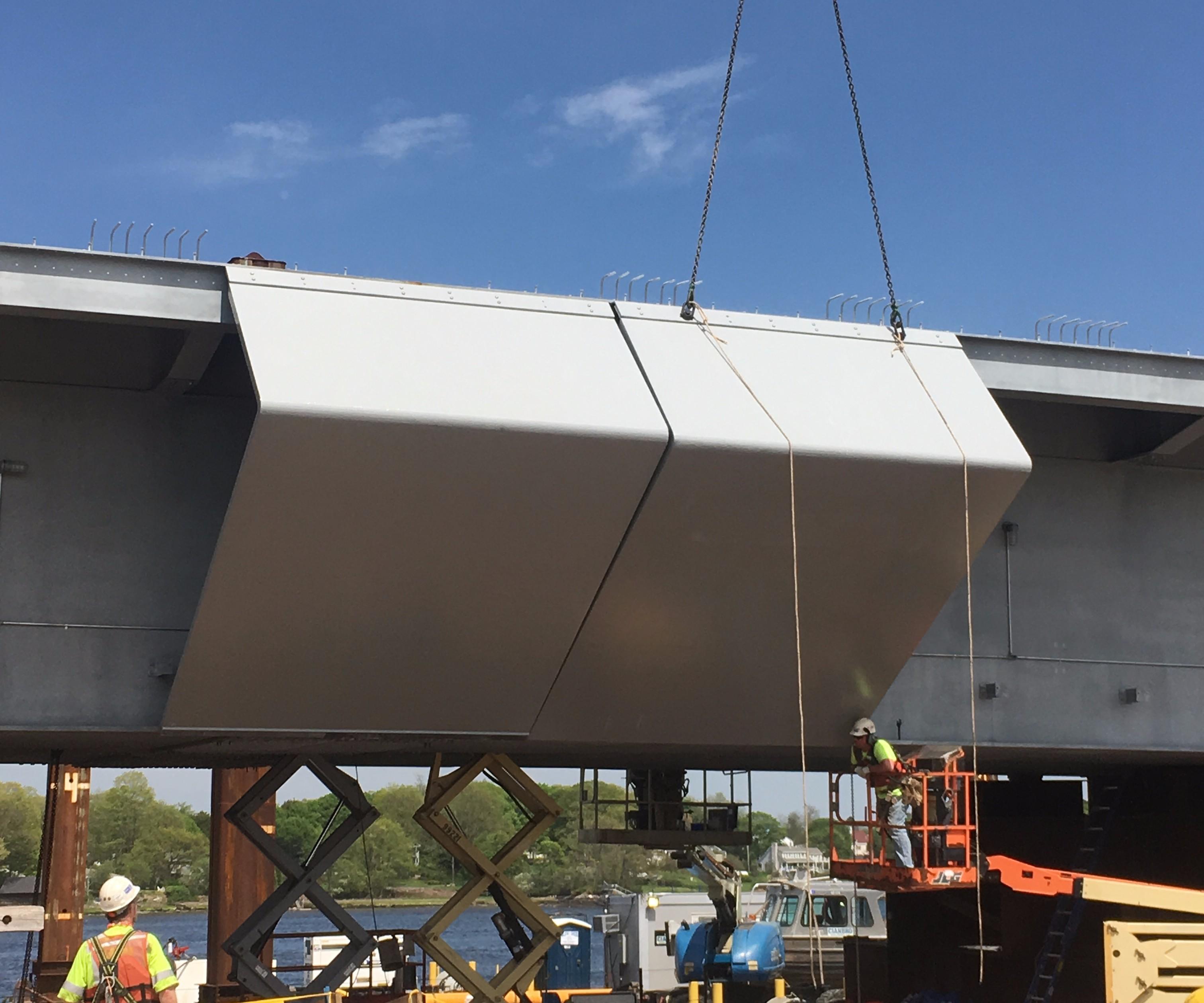 Sarah Mildred Long Bridge FRP fairings