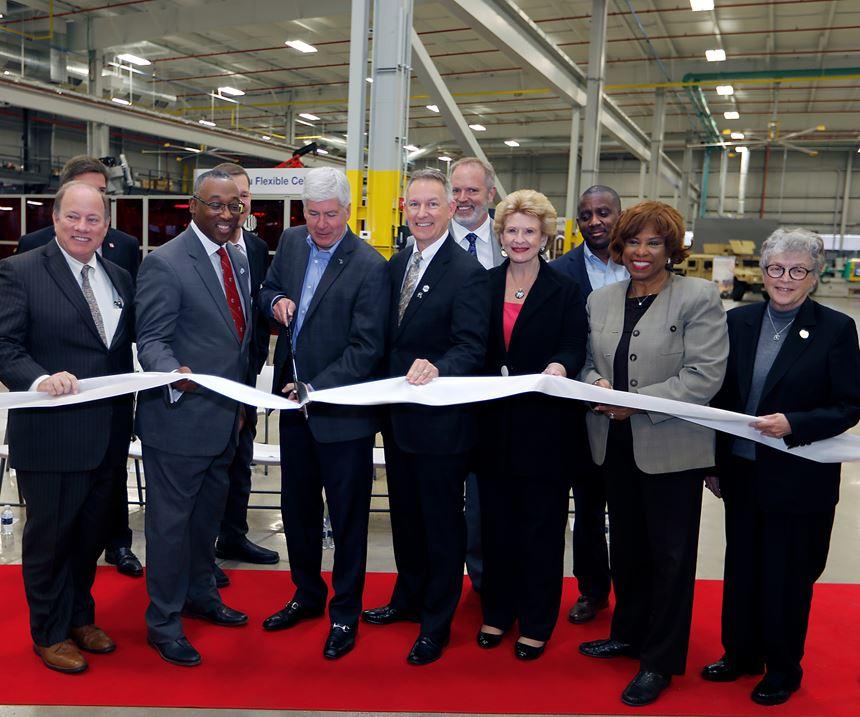 IACMI Vehicles Scale-Up Facility Detroit ribbon-cutting