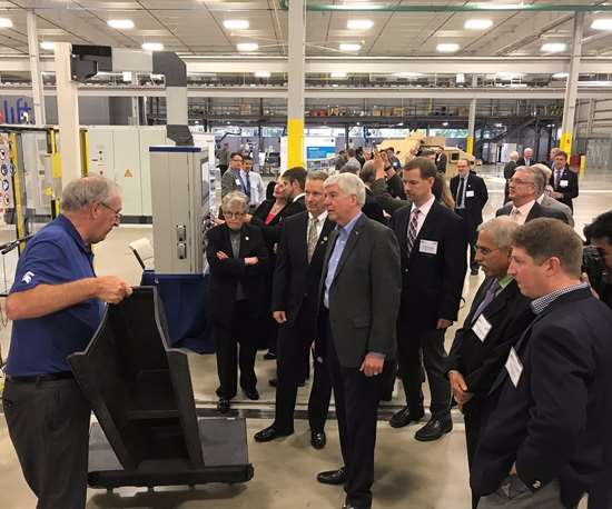 IACMI Vehicles Scale-Up Facility grand opening.