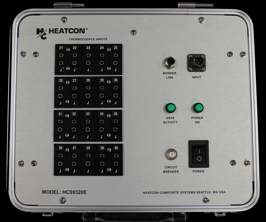 HCS9320E 20-channel thermocouple expansion system.