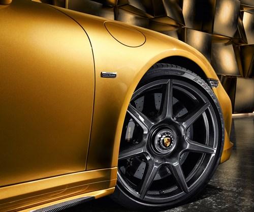 Porsche and the braided carbon fiber wheel