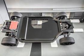 Williams FW-EVX electric vehicle platform CFRP battery module boxes