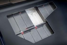 Williams FW-EVX electric vehicle platform CFRP battery module boxes 223 folding process