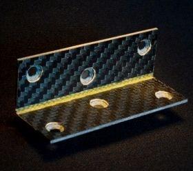 carbon Kevlar hinge folded composites Williams FW-EVX platform
