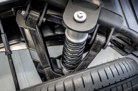 Williams FW-EVX electric vehicle platform CFRP wishbone HP-RTM recycled carbon fiber Racetrak process NCC Bristol