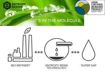 Entropy Resins biorefinery resin technology Super Sap epoxy
