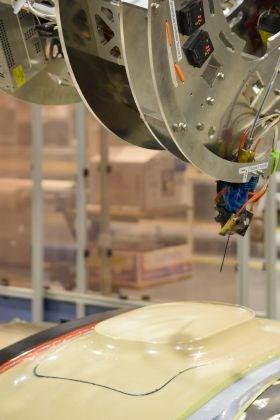 Orbital Composites 3D printing continuous carbon fiber composites CTC test