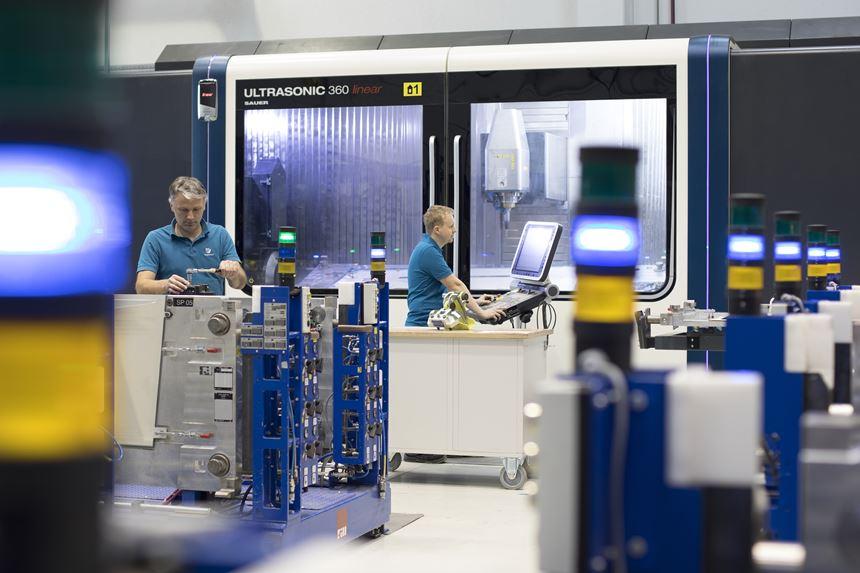 PW800 fan cases production line at FACC