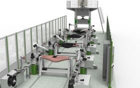 Cevotec SAMBA Scale automated composite preforming Fiber Patch Placement for high-volume