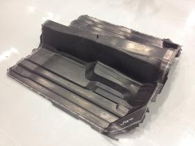 Demonstration automotive floor pan iComposite 4.0 project AZL Schuler press