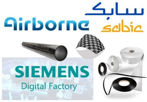 Airborne SABIC Siemens partnership to mass produce thermoplastic composites parts