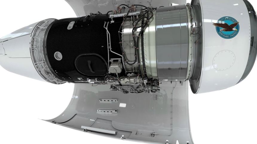 FACC fan cases for PurePower PW800 engine