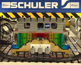 Adaptive RTM iComposite Schuler press