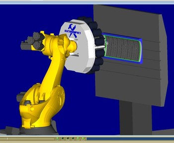 CGTech programming software for AFP and ATL machines like the 16-tow system at NASA Langley