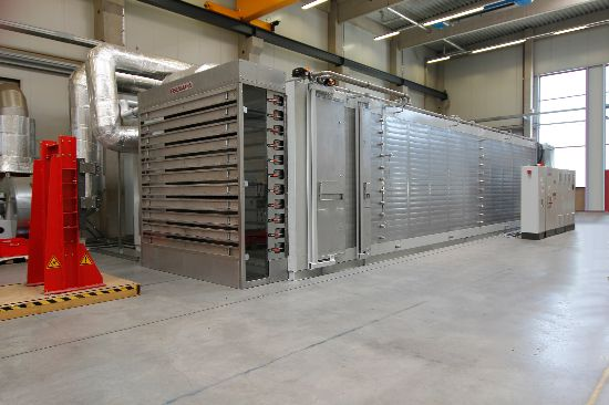 Eisenmann E2E End-to-End Oxidation Oven