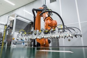 Voith Composites automated composites production for Audi A8 rear wall