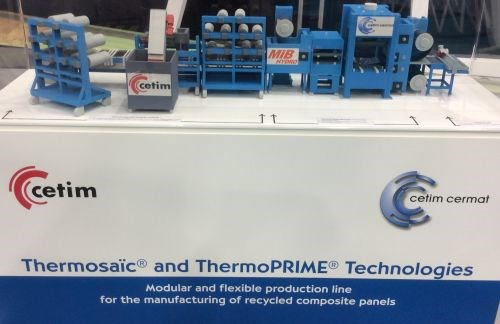 Cetim ThermoPRIME and Thermosaic recycling technologies for thermoplastic composites