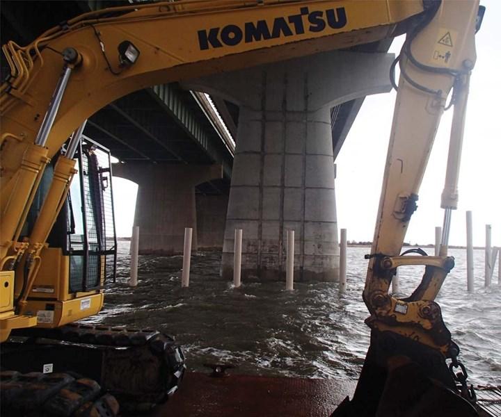 construction composite pilings