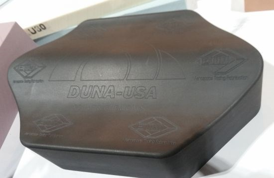 DUNA USA machined Black Corintho 800 High temp, low-CTE tooling board at AeroDef 2018