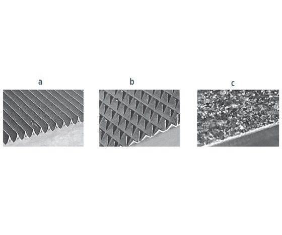 Grip surfaces used for composites