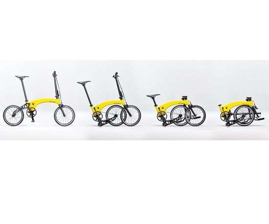 Hummingbird foldable bike
