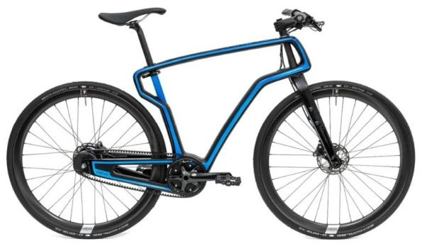 Arevo 3D printed carbon fiber thermoplastic composite bike