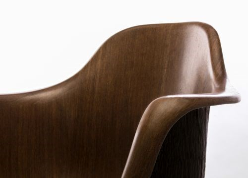 Ekoa TP composite molded into better than wood chair